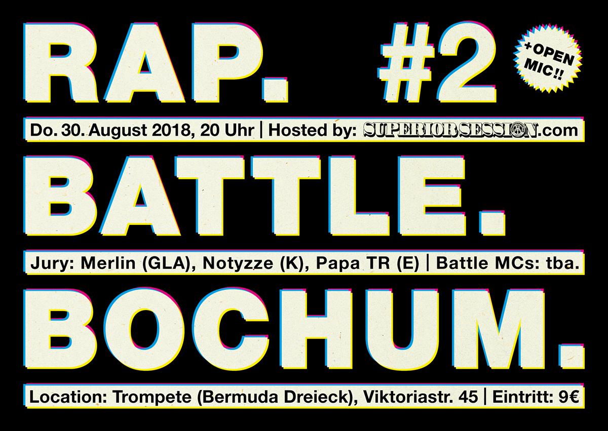 RapBattleBochum #2 Flyer